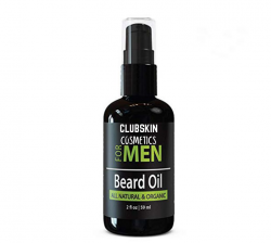Mens Beard Oil with Growth Formula clubskin cosmetics