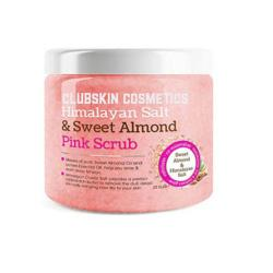 Himalayan Salt & Sweet Almond Pink Full Body Scrub - clubskin cosmetics